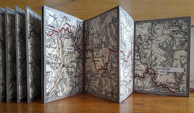 Mathilde Roux, Tracer, livre d'artiste