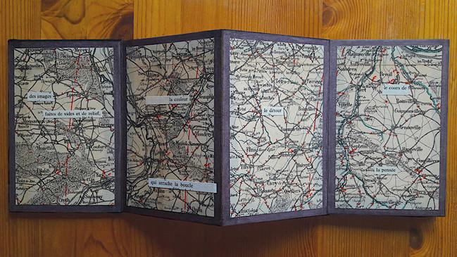 Mathilde Roux, La boucle, livre d'artiste