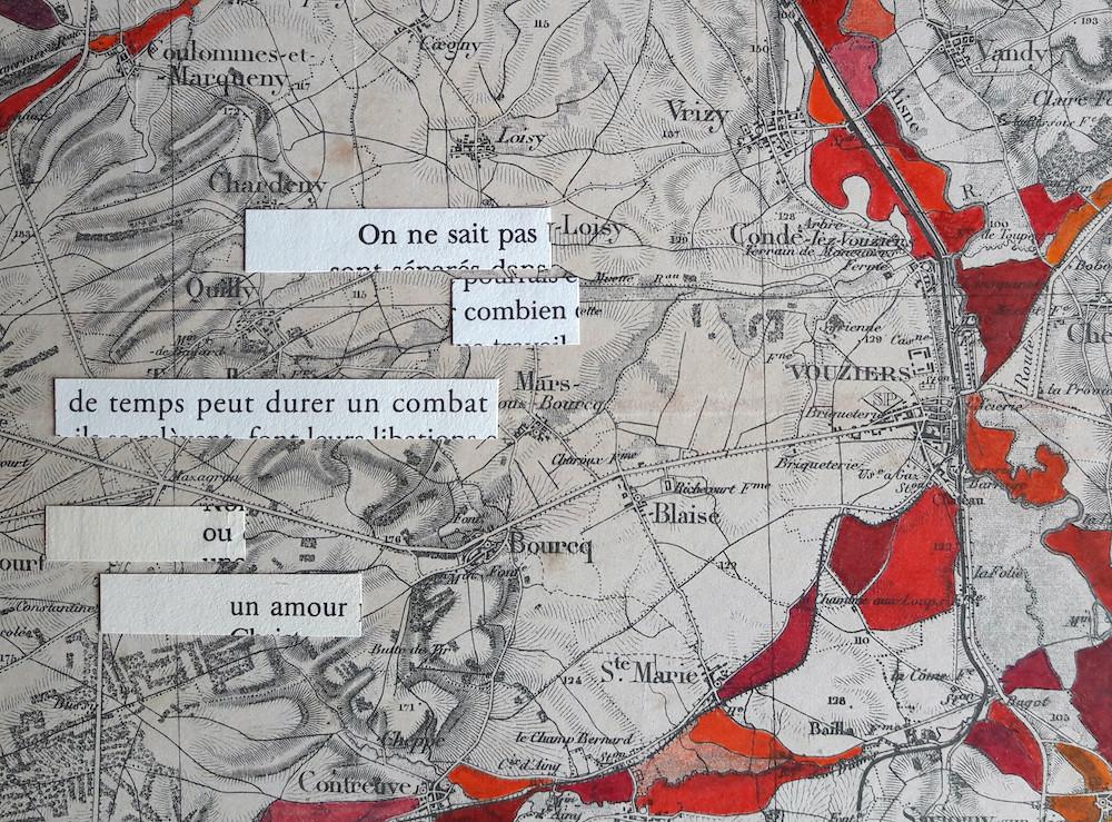 En second lieu, le temps / Verdun (détail)