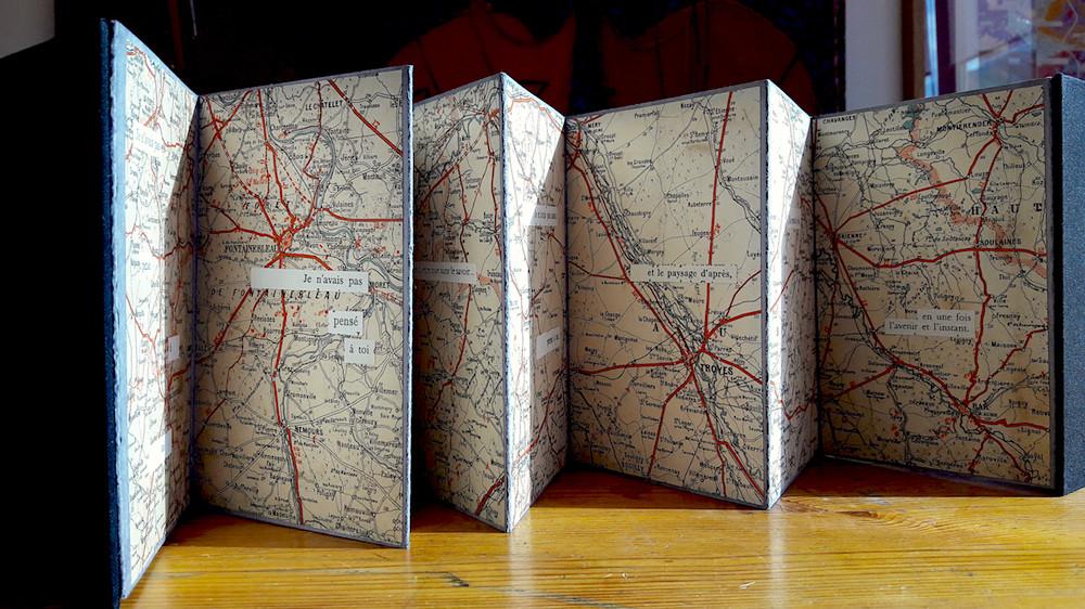 Mathilde Roux, Je n'avais pas pensé à toi, livre d'artiste