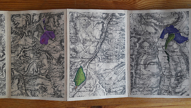 Mathilde Roux, Et puis il y a eu la guerre, livre d'artiste