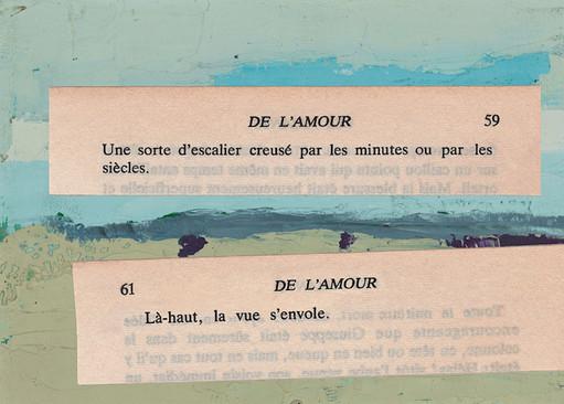 Mathilde Roux, De l'amour 18, collage