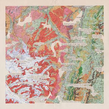 Mathilde Roux cartes géologiques augmentées Chamonix