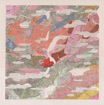 Mathilde Roux cartes géologiques augmentées 15 Saint Dié