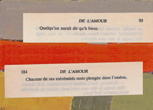 Mathilde Roux, De l'amour 7, collage