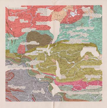 Mathilde Roux cartes géologiques augmentées Evron