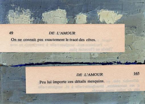 Mathilde Roux, De l'amour 2, collage
