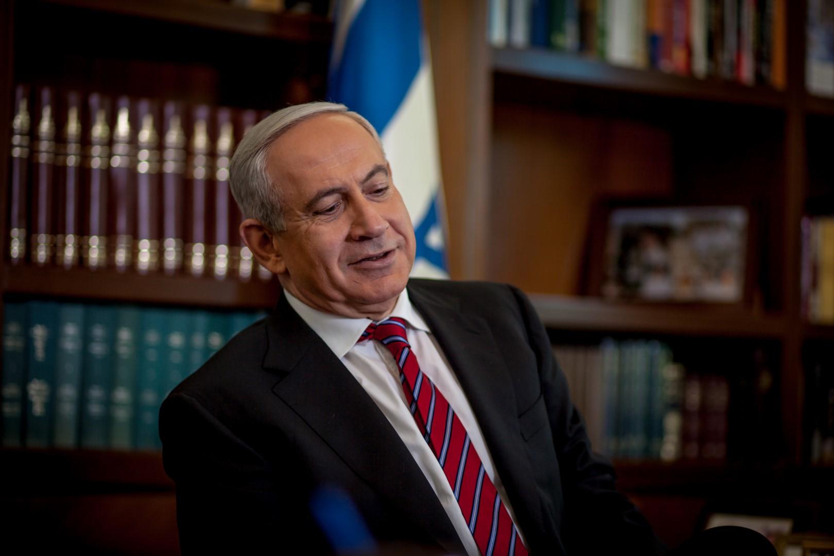 ראש הממשלה בנימין נתניהו 2013