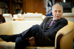 נשיא המדינה שמעון פרס  2013