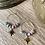 Thumbnail: Bead & Star Hoop Earrings