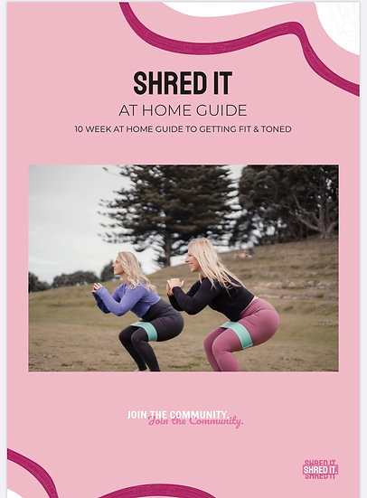 SHRED IT AT HOME GUIDE