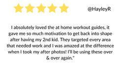 I absolutely loved the at home workout g