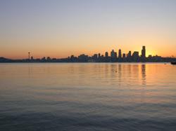 """""""Sunset"""" - Seattle, WA"""