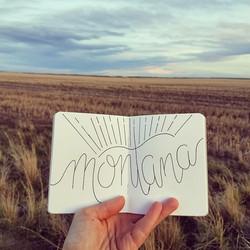 """""""Handlettering"""" - Acton, MT"""