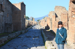 Among the ruins / Pompeii, Italy