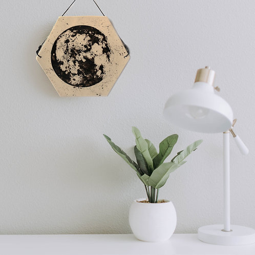 Kafel - Księżyc