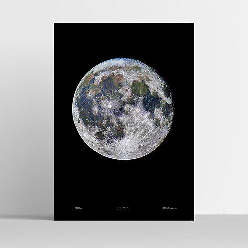 Księżyc w kolorze - plakat