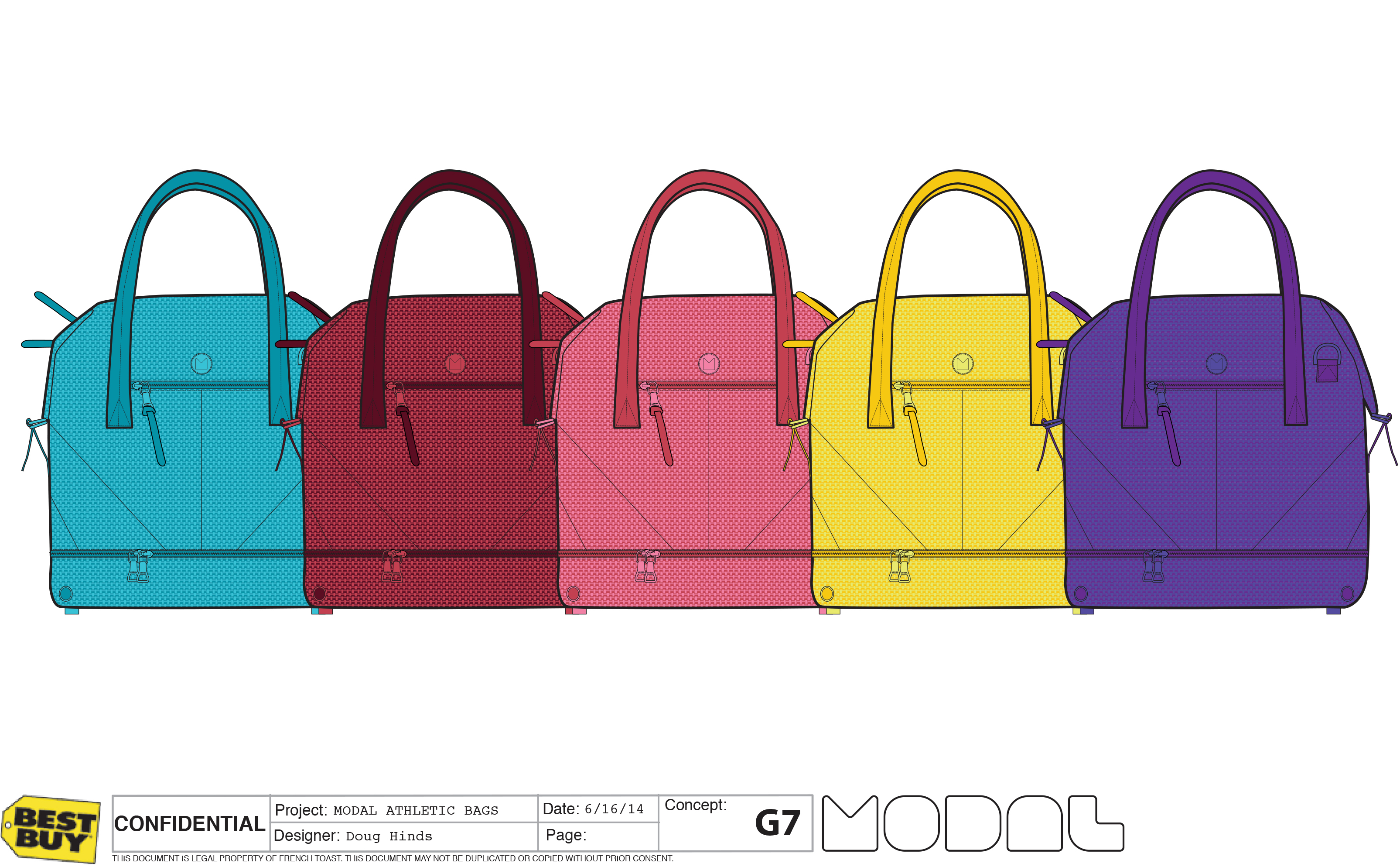 MODAL ATHLETIC TOTE BAGS
