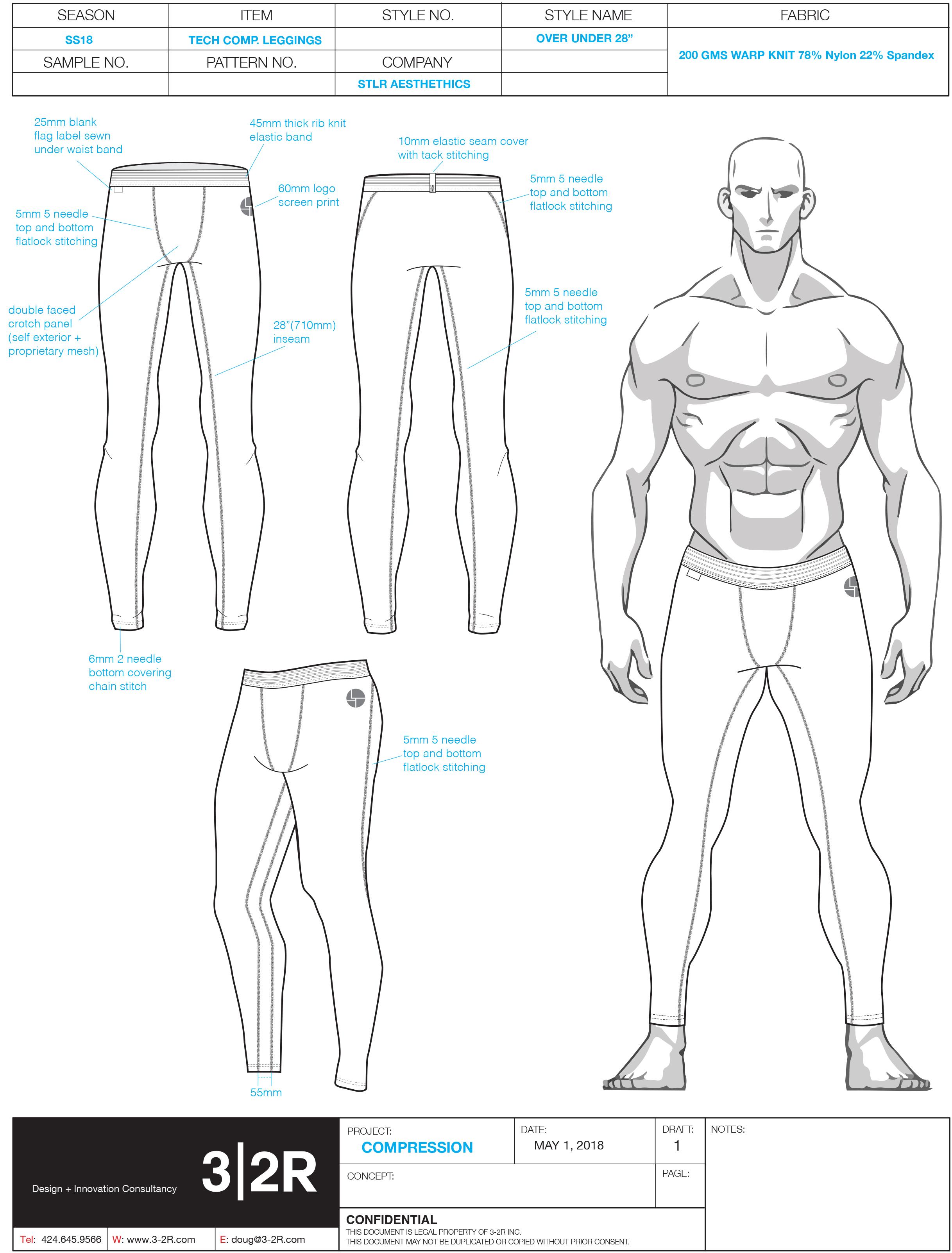 28_ compression tights