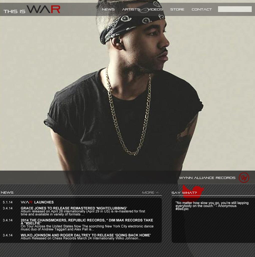 WAR Website