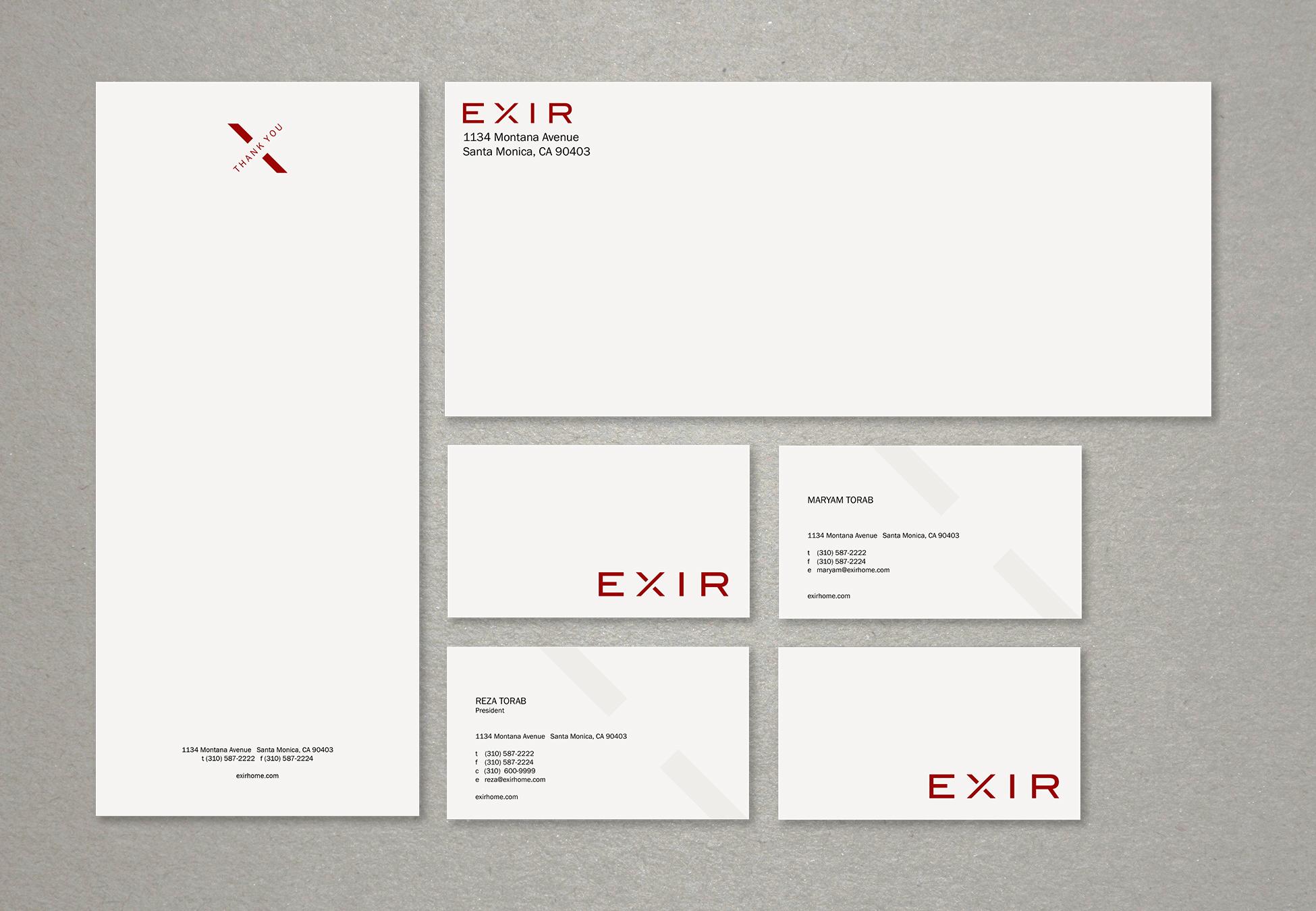 Exir Branding