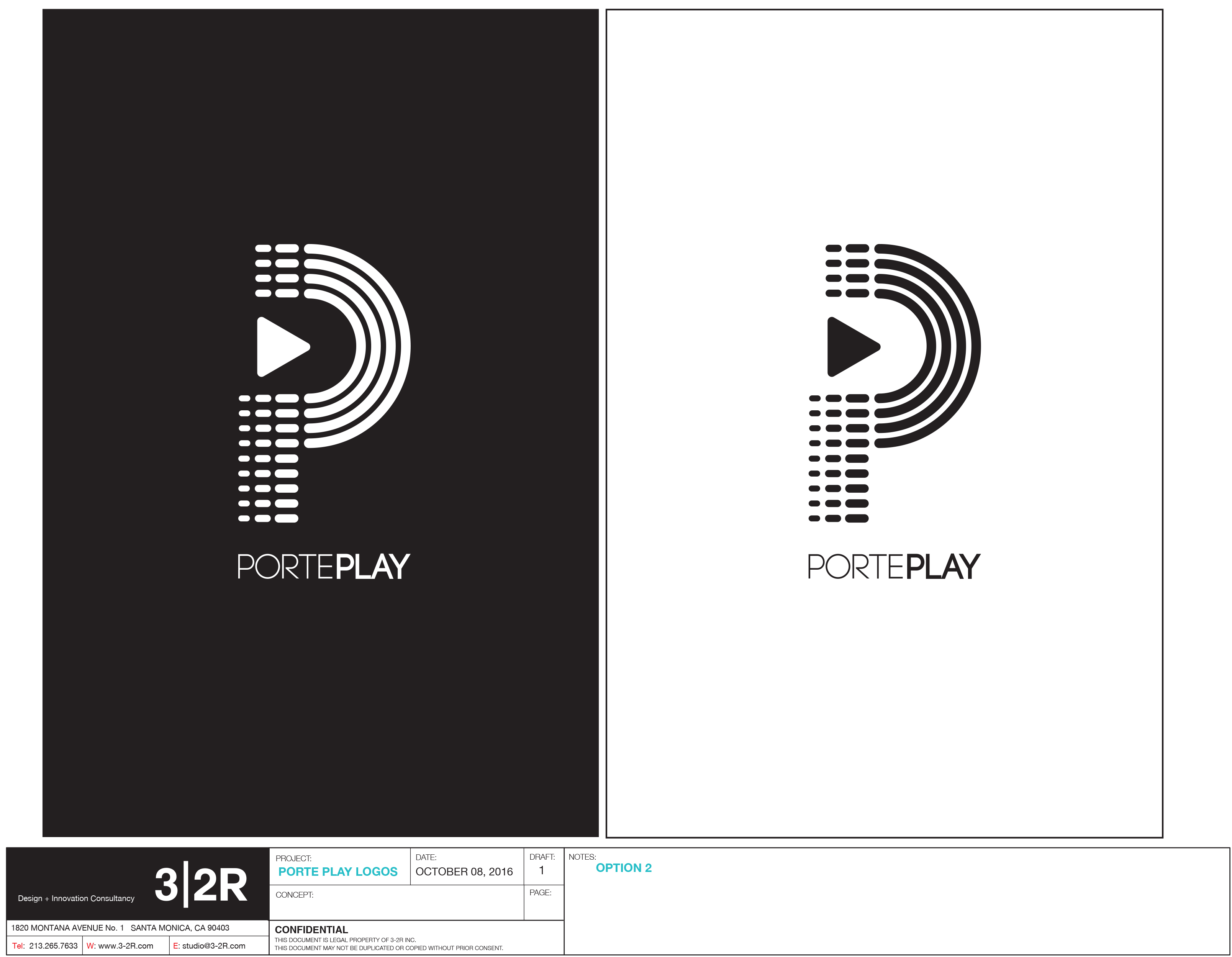 Porte Play Logo Update