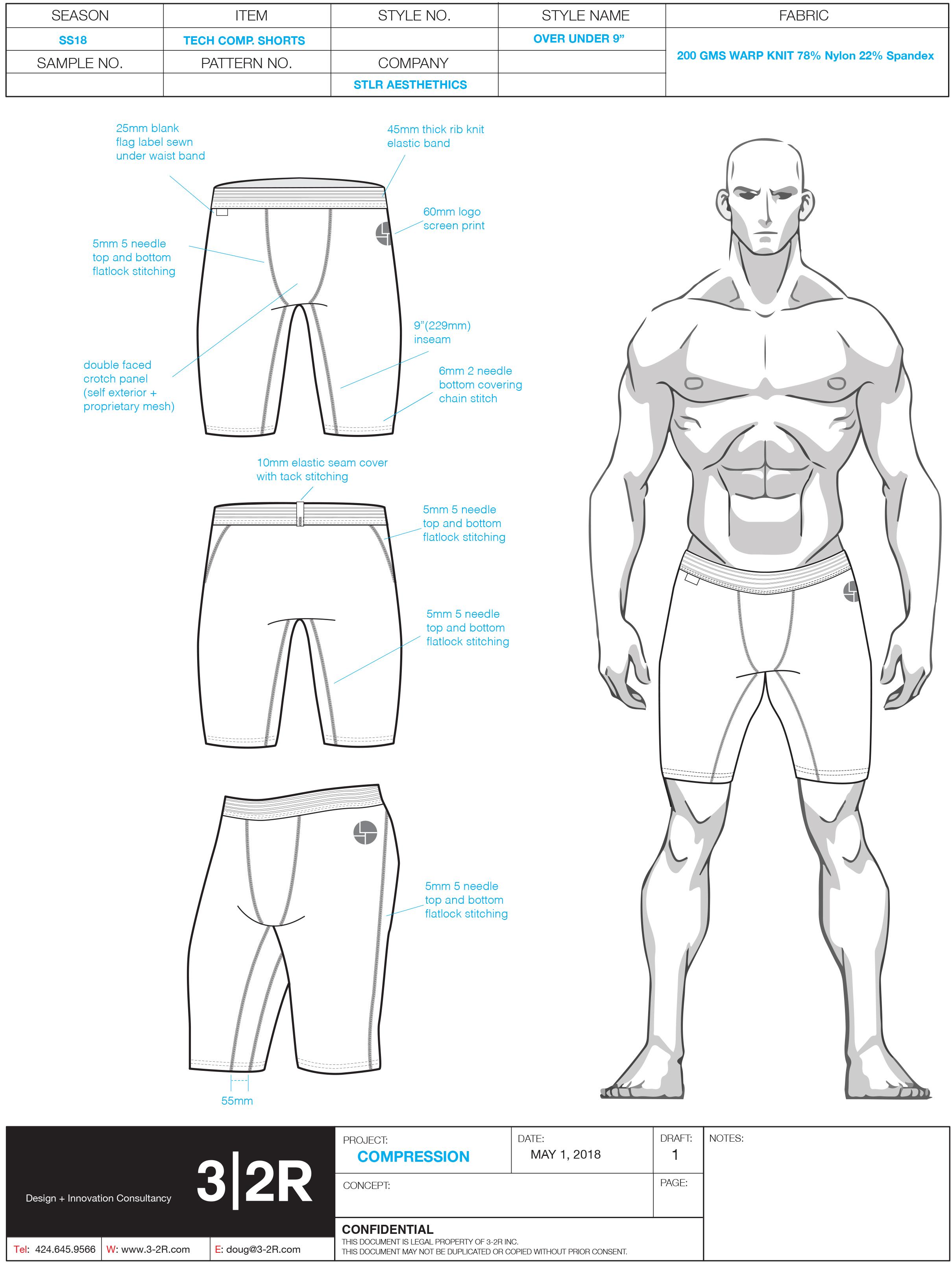 9_ compression shorts