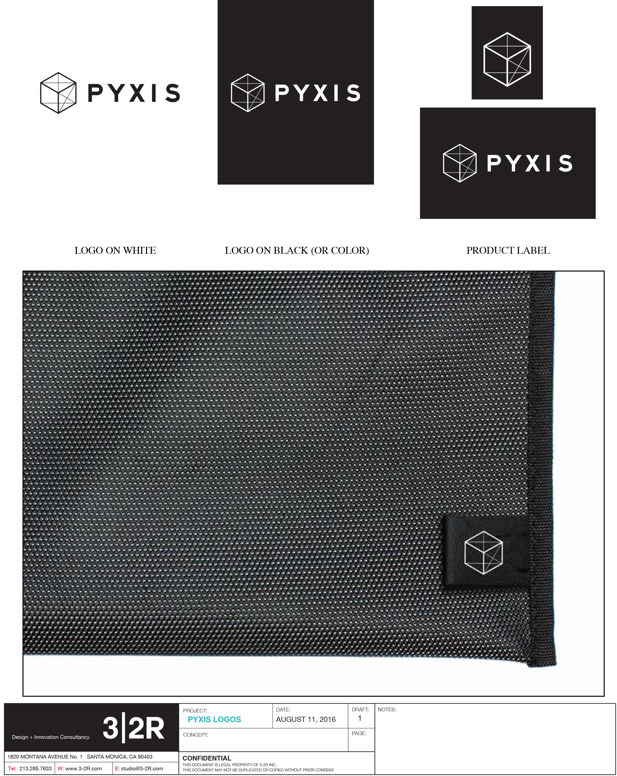 PYXIS Logo Design