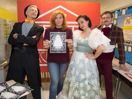 Наши актеры на Пушкинском фестивале