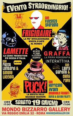 Frigidaire - Graffa - Lamette - PUCK!