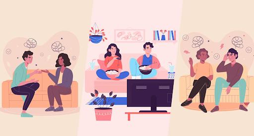 O convívio familiar e o isolamento social