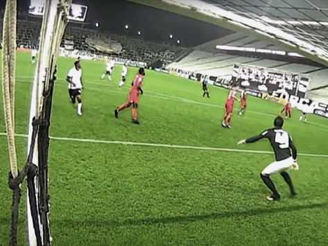 A não presença da torcida nos jogos de futebol