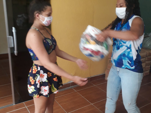 Engajamento feminino contra a pandemia
