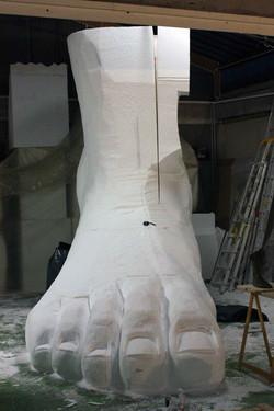 SculpturePrune Nourry - musée Guimet