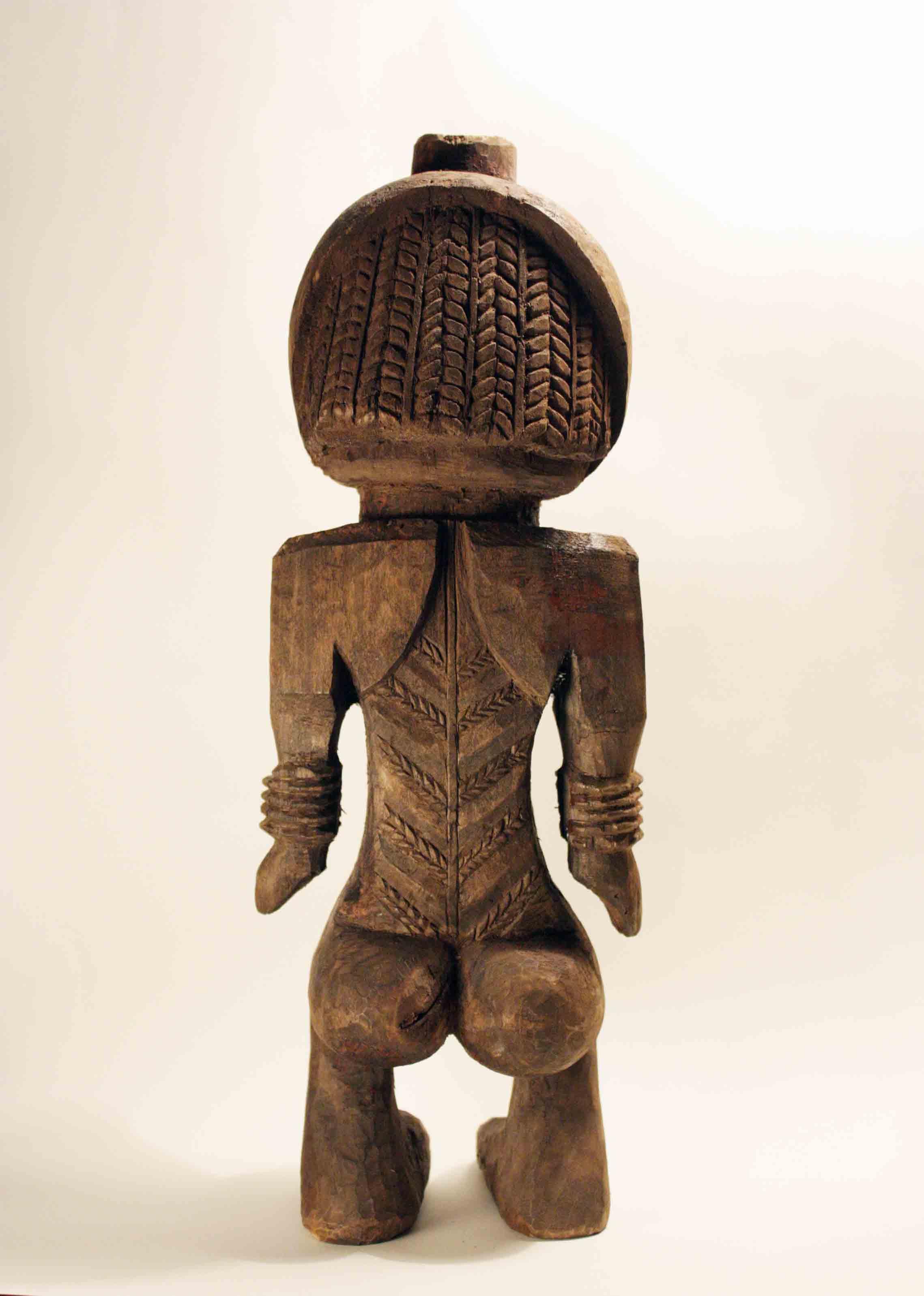 Statuette imitation ébène