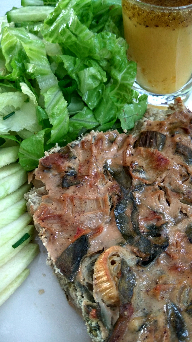 עונתית מזינה ונהדרת - פשטידת ירק וגבינות עשירה בחלבון וללא גלוטן. פשטידה מבית טוב