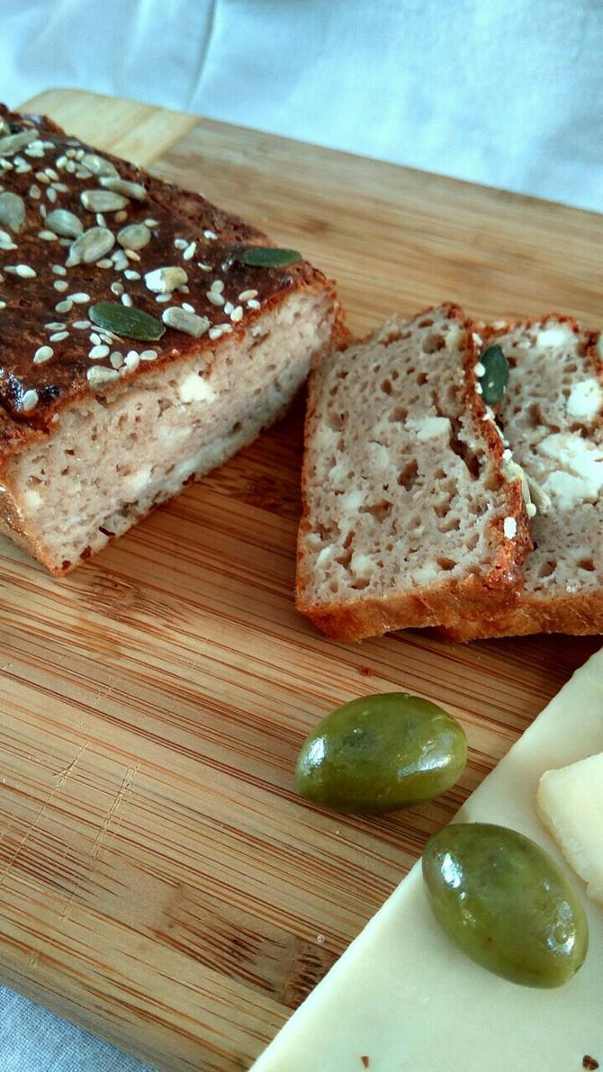 מאפה-לחם דל פחממה, עשיר בחלבון, ללא גלוטן. מגבינות וקמח שקדים מופחת שומן- עשיר ורך, ומאד טעים