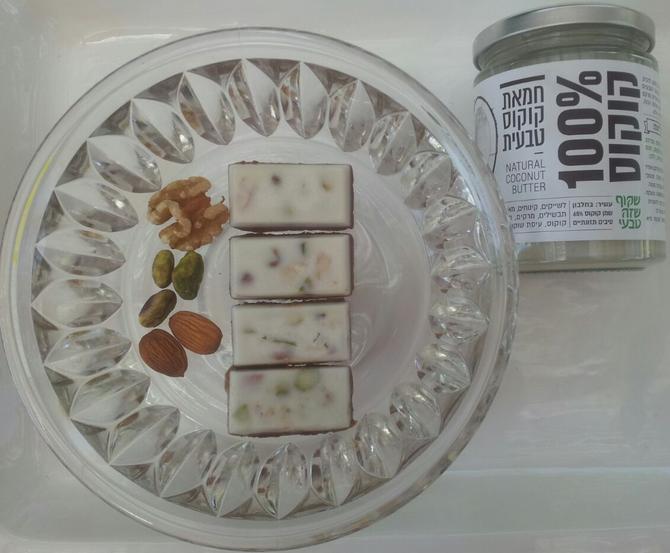 חמאת קוקוס ושוקולד, שילוב מנצח