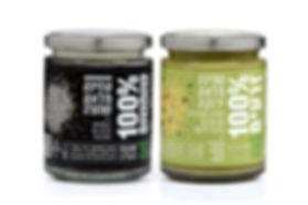 שקוף שזה טבעי - טחינות - טחינה מלאה ירוקה וטחינה מלאה שחורה