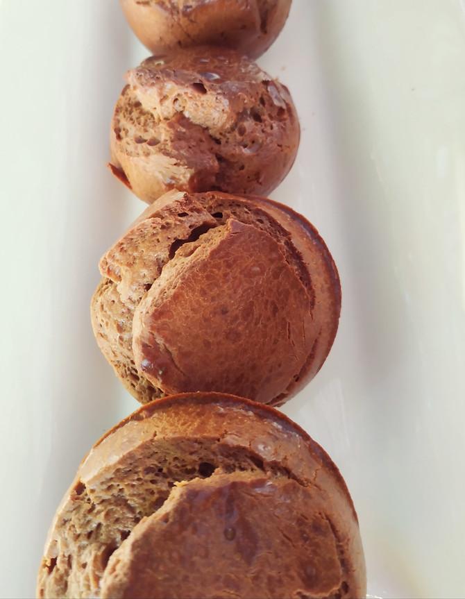 לחמניות רכות וטעימות ללא קמח, דלות פחממה וללא תוספת סוכר. 3 דק' עבודה