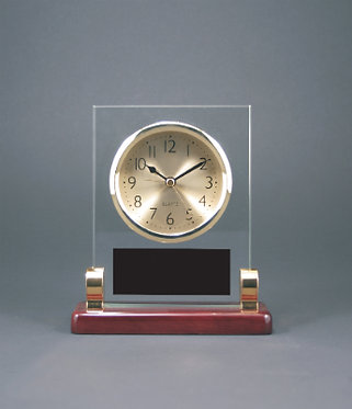 Rectangle Clock with Posts