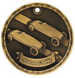 Derby 3D Medal - 3D308