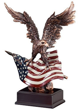 American Eagle Resin Sculpture