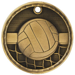 Volleyball 3D Medal - 3D216