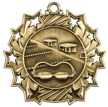 Swimming Ten Star Medal
