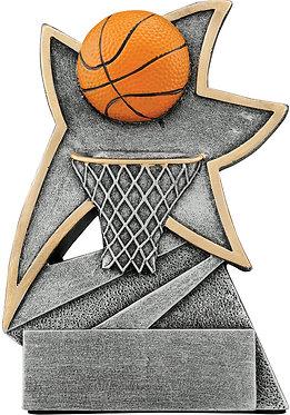 Basketball Jazz Star Resin