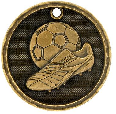 Soccer 3D Medal