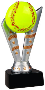 Softball Fanfare Resin