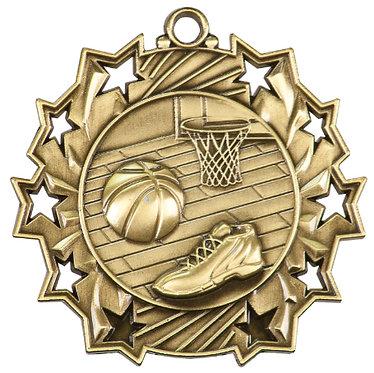 Basketball Ten Star Medal
