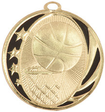 Basketball Midnite Star Medal